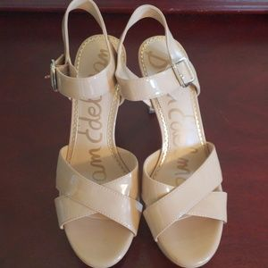 Nude heels only worn once